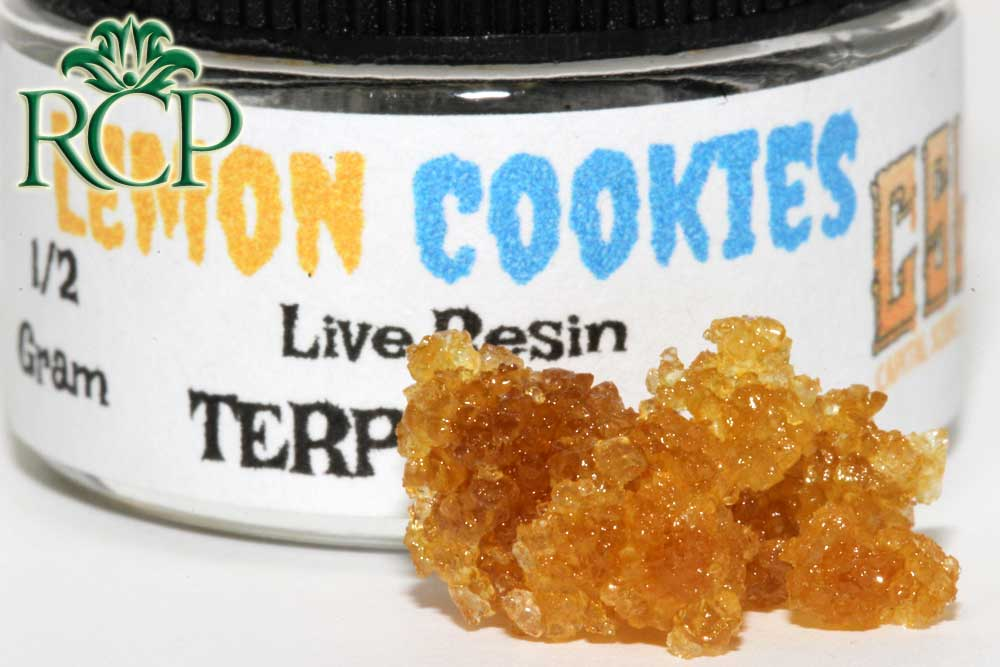 Sacramento Medical Marijuana Dispensary Cannabis Club Strain BHODACIOUS LEMON COOKIES LR SUGAR .5G