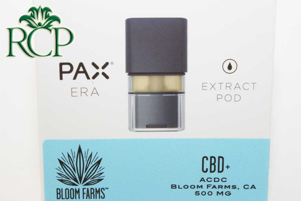 Sacramento MMJ Dispensary Strain BLOOM PAX CBD POD