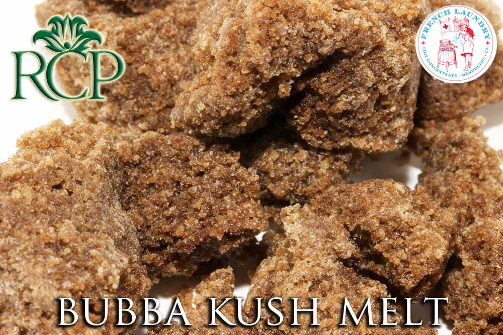 Sacramento Medical Marijuana Dispensary Cannabis Club Strain BUBBA KUSH MELT