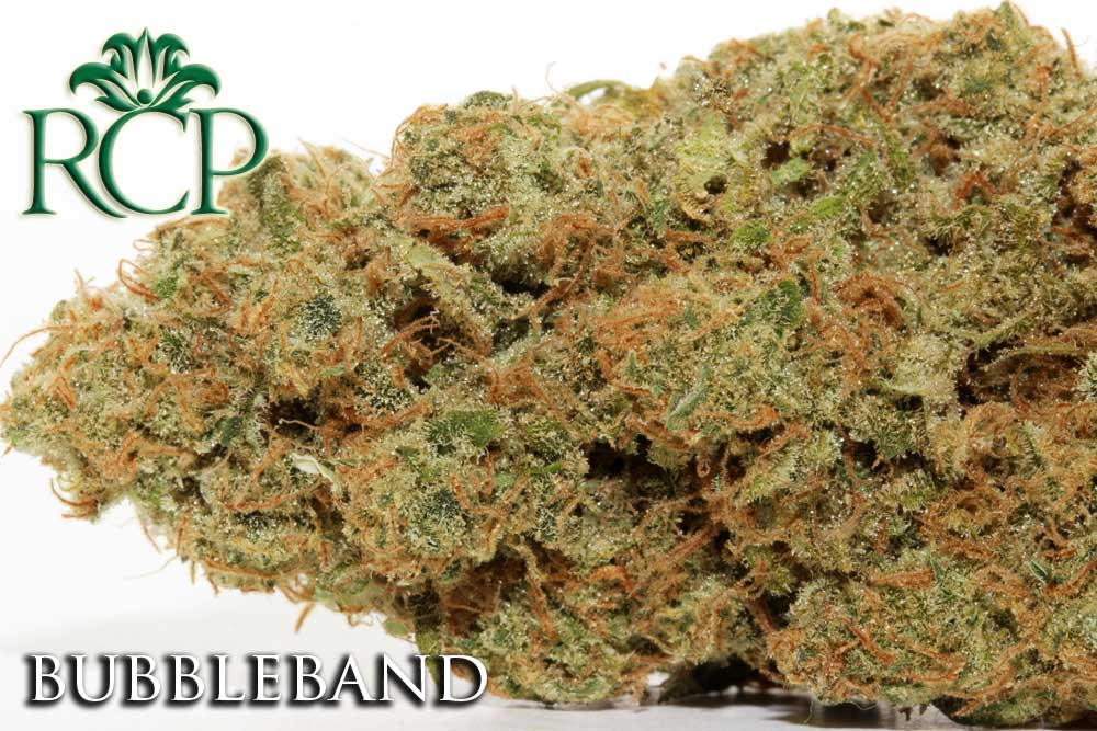 Sacramento Medical Marijuana Dispensary Cannabis Club Strain BUBBLEBAND