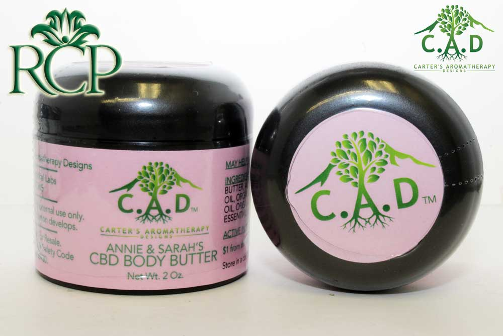 Sacramento MMJ Dispensary Strain CAD BODY BUTTER