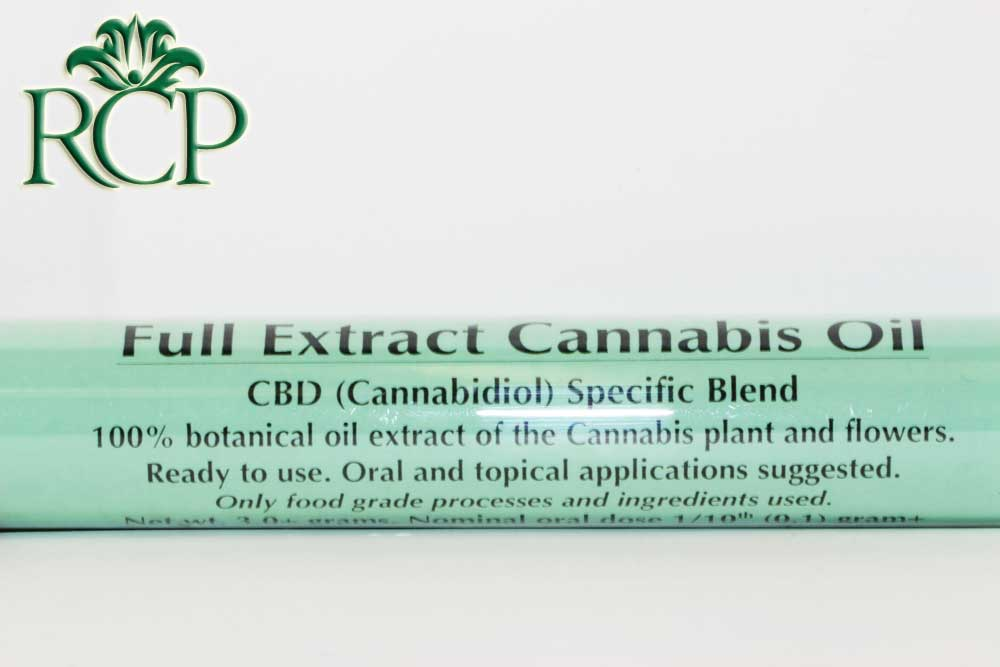 Sacramento MMJ Dispensary Strain CBD RICH FULL EXTRACT OIL