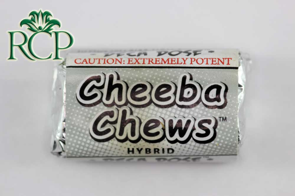 Sacramento Medical Marijuana Dispensary Cannabis Club Strain CHEEBA CHEWS HYBRID DECA DOSE