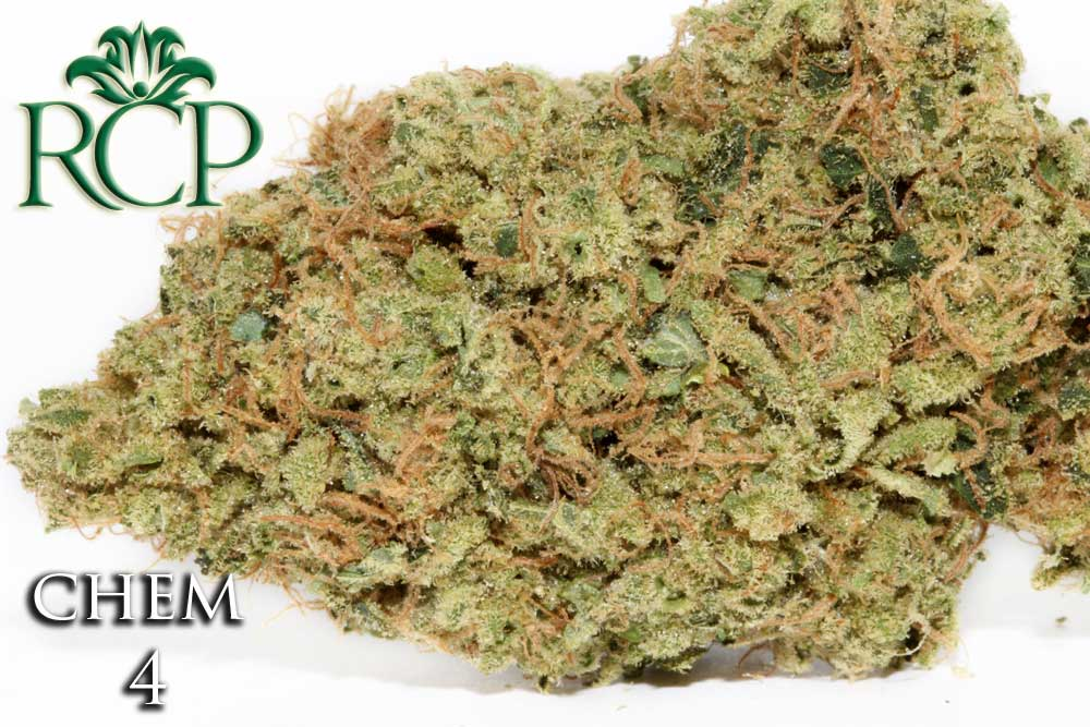 Sacramento MMJ Dispensary Strain CHEM 4