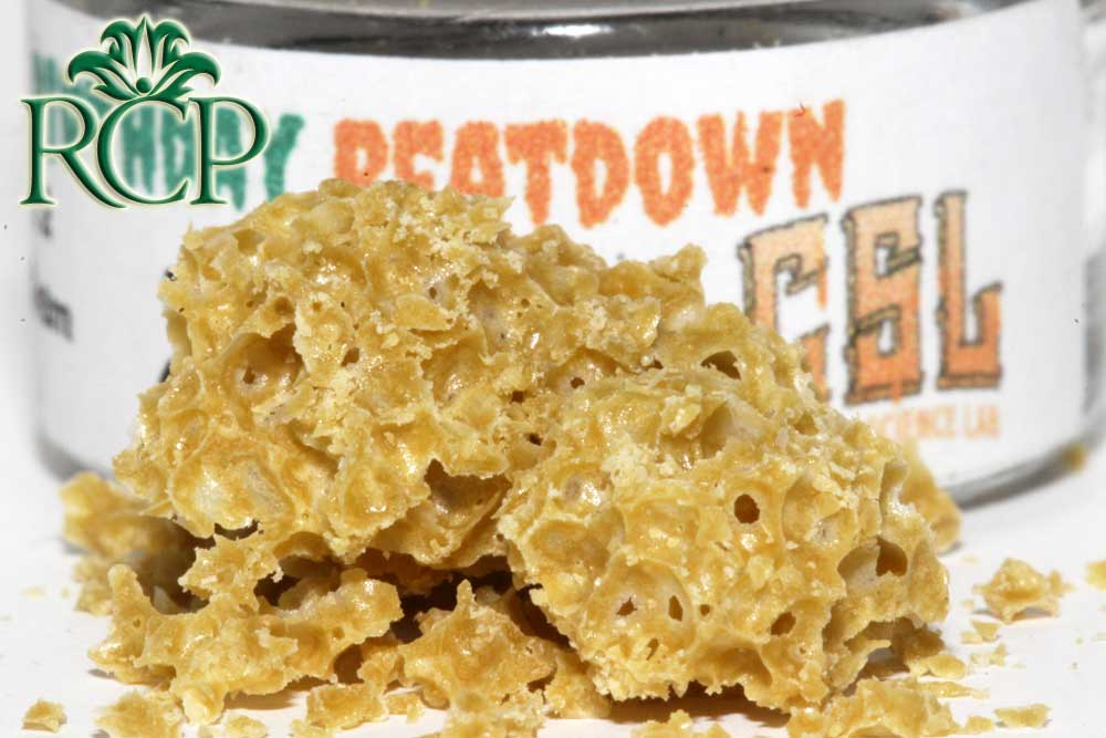 Sacramento Medical Marijuana Dispensary Cannabis Club Strain CSL BDAY BEATDOWN BUDDER .5G