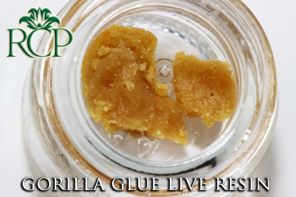 Sacramento Medical Marijuana Dispensary Cannabis Club Strain DABBLICIOUS GORILLA GLUE LIVE RESIN