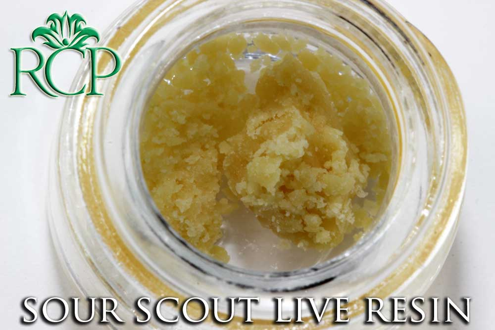 Sacramento Medical Marijuana Dispensary Cannabis Club Strain DABBLICIOUS SOUR SCOUT LIVE RESIN