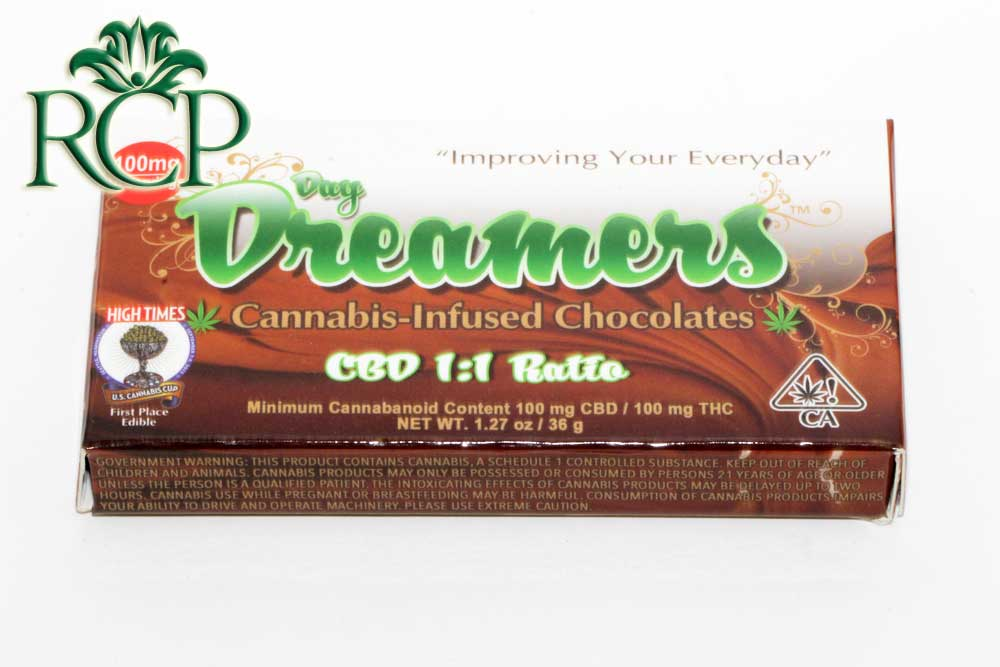 Sacramento Medical Marijuana Dispensary Cannabis Club Strain DAY DREAMER CBD 10PK