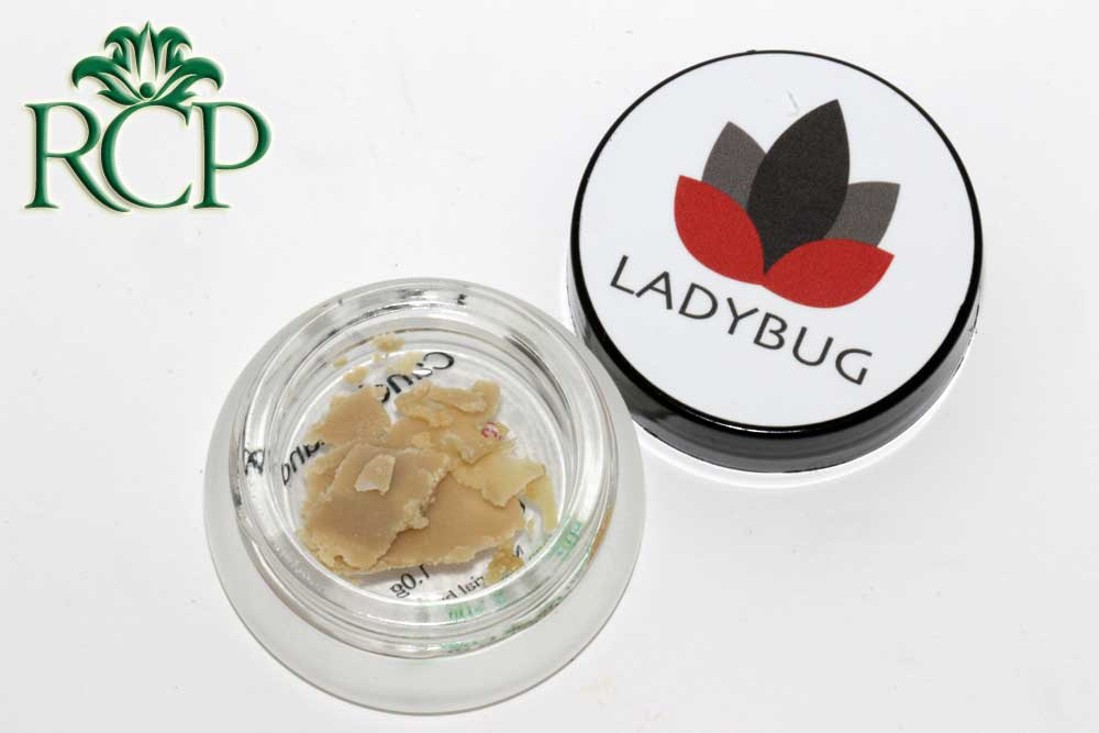 Sacramento Medical Marijuana Dispensary Cannabis Club Strain DR LADYBUG CANDYLAND HASH ROSIN .5G