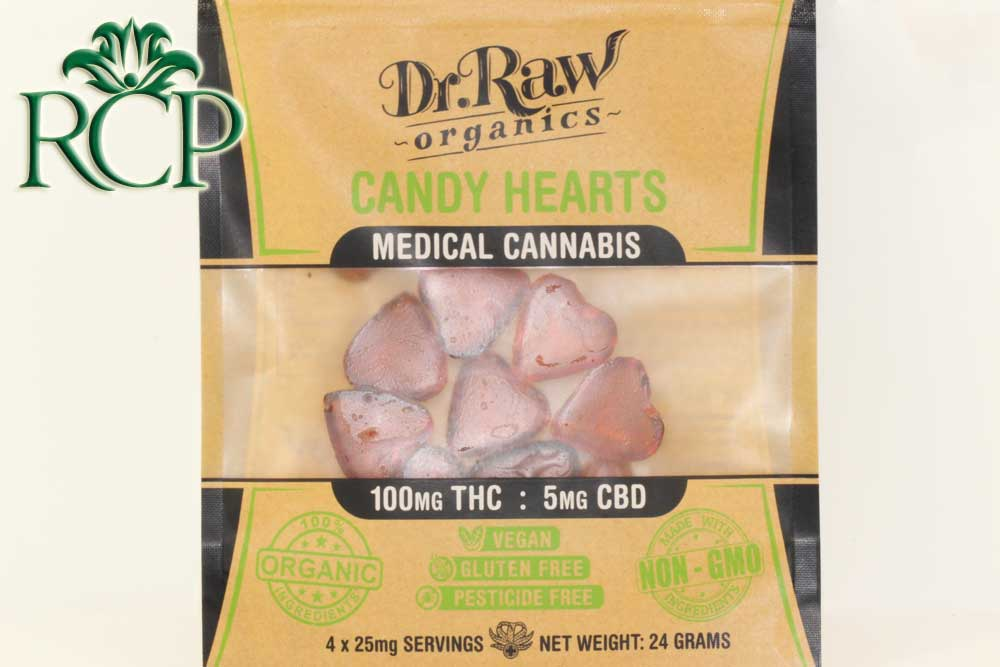 Sacramento MMJ Dispensary Strain DR RAW CANDY HEARTS