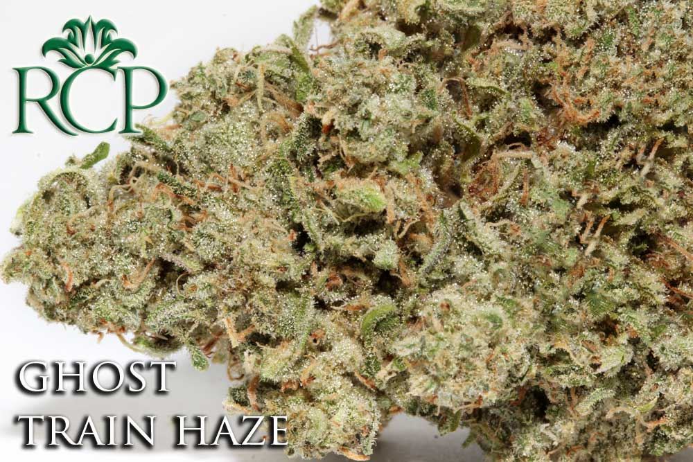 Sacramento Medical Marijuana Dispensary Cannabis Club Strain GHOST TRAIN HAZE