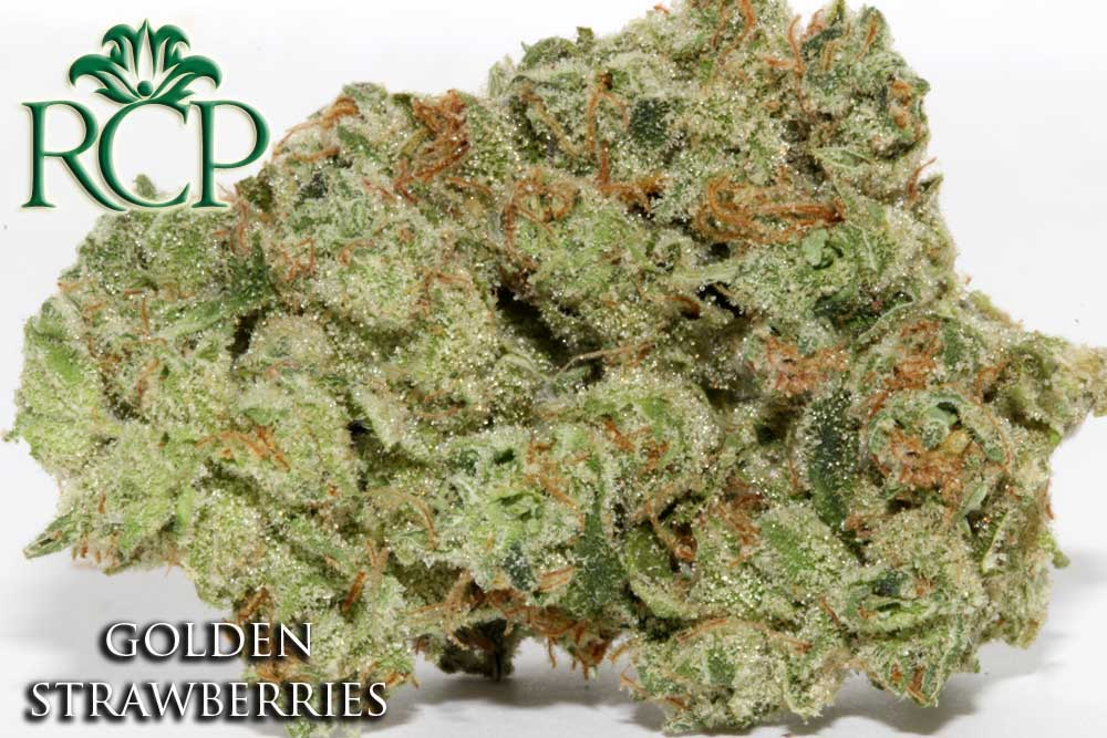 Sacramento Medical Marijuana Dispensary Cannabis Club Strain GOLDEN STRAWBERRIES