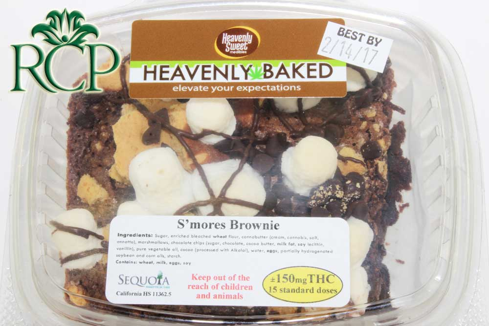 Sacramento MMJ Dispensary Strain HEAVENLY SWEET SMORES BROWNIE