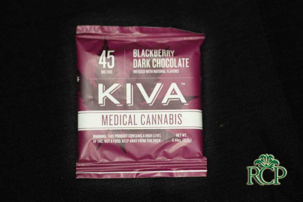 Sacramento Medical Marijuana Dispensary Cannabis Club Strain KIVA BLACKBERRY SINGLE