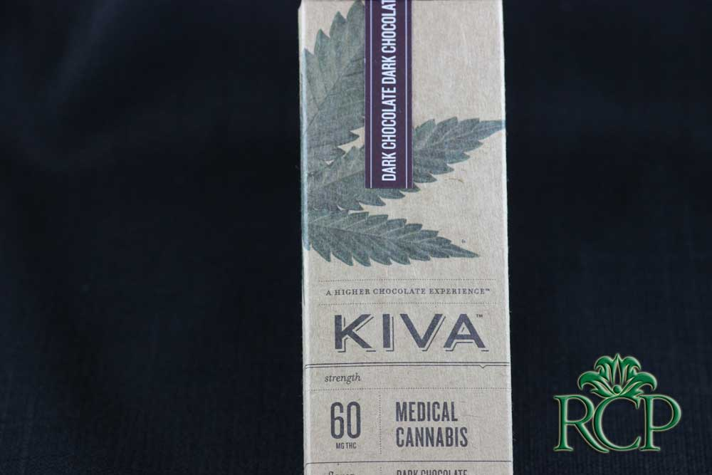 Sacramento Medical Marijuana Dispensary Cannabis Club Strain KIVA DARK CHOCOLATE