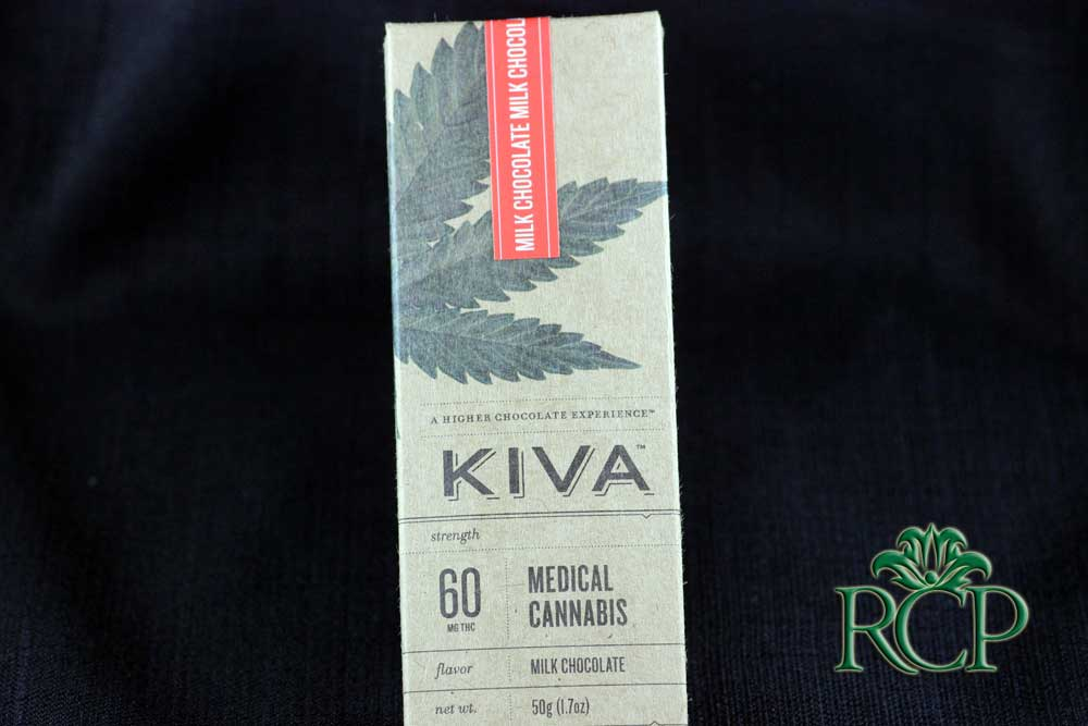 Sacramento Medical Marijuana Dispensary Cannabis Club Strain KIVA MILK CHOCOLATE