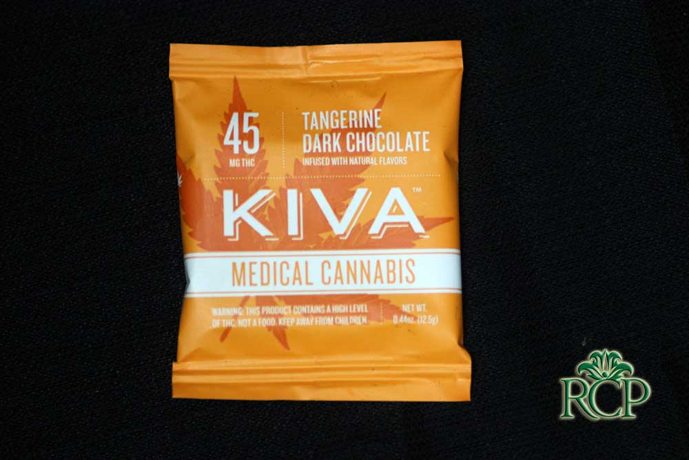 Sacramento Medical Marijuana Dispensary Cannabis Club Strain KIVA TANGERINE SINGLE