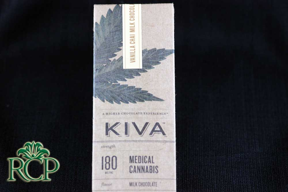 Sacramento Medical Marijuana Dispensary Cannabis Club Strain KIVA VANILLA CHAI