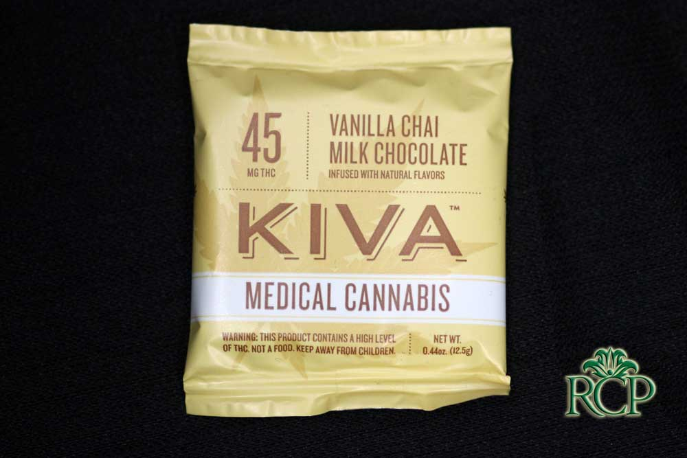 Sacramento Medical Marijuana Dispensary Cannabis Club Strain KIVA VANILLA CHAI SINGLE