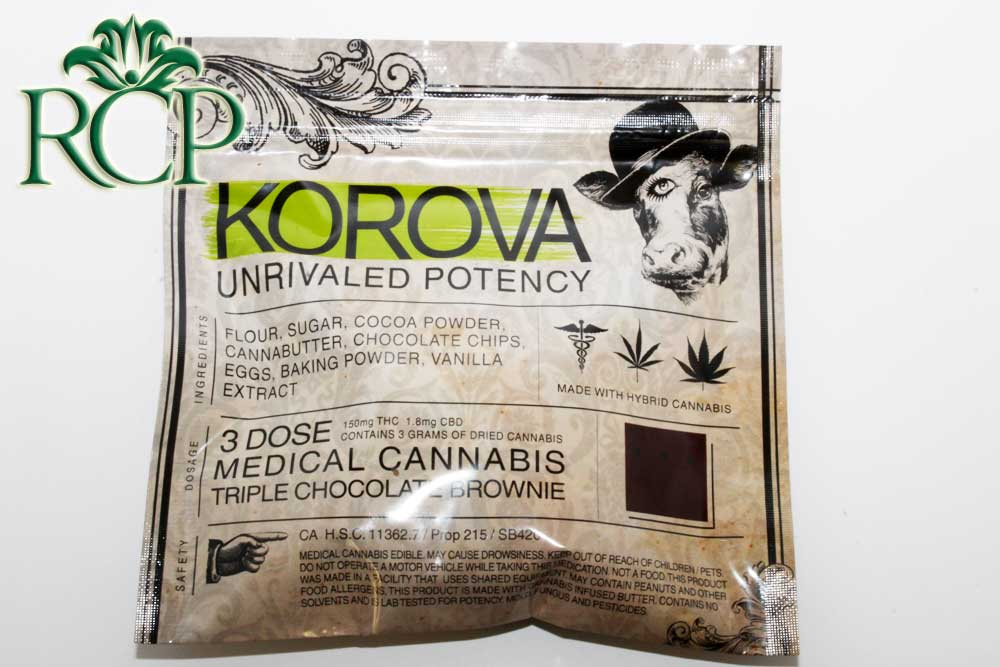 Sacramento Medical Marijuana Dispensary Cannabis Club Strain KOROVA BROWNIE