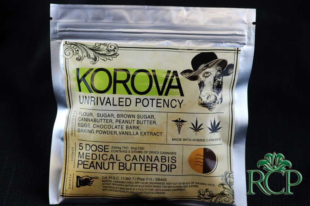 Sacramento Medical Marijuana Dispensary Cannabis Club Strain KOROVA PEANUT BUTTER DIP