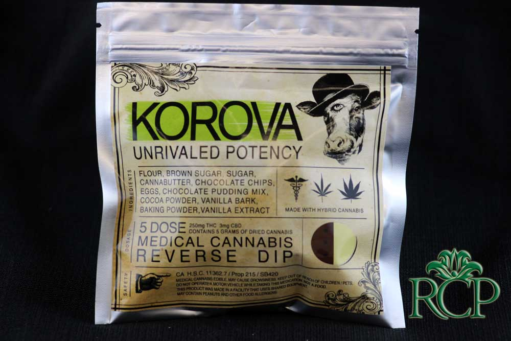 Sacramento Medical Marijuana Dispensary Cannabis Club Strain KOROVA REVERSE DIP
