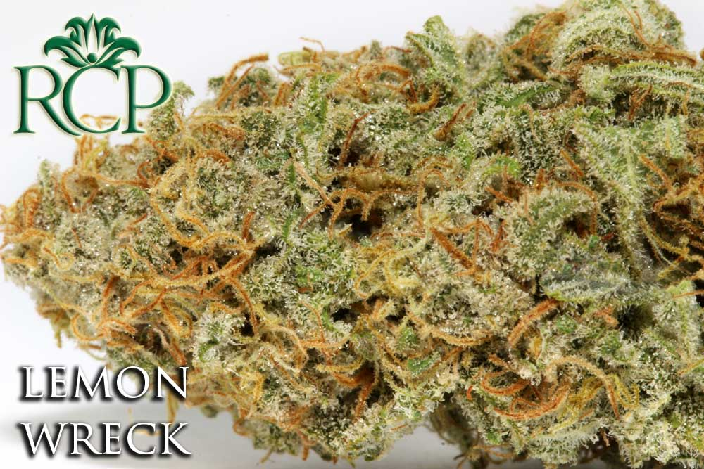 Sacramento Medical Marijuana Dispensary Cannabis Club Strain LEMON WRECK