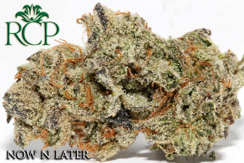Sacramento MMJ Dispensary Strain NOW N LATER