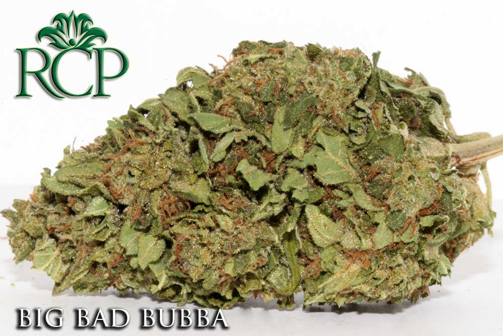 Sacramento MMJ Dispensary Strain BIG BAD BUBBA