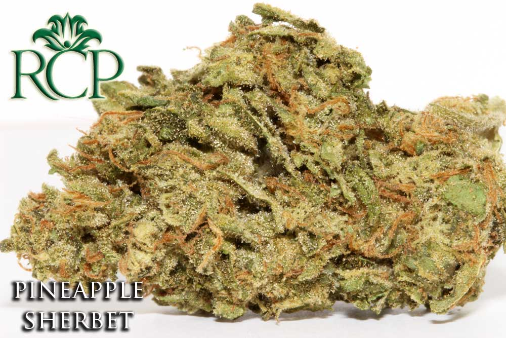 Sacramento Medical Marijuana Dispensary Cannabis Club Strain PINEAPPLE SHERBET