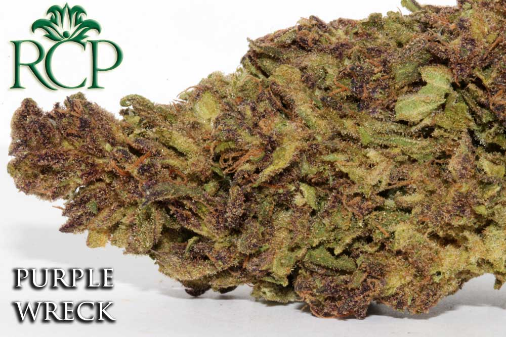 Sacramento MMJ Dispensary Strain PURPLE WRECK