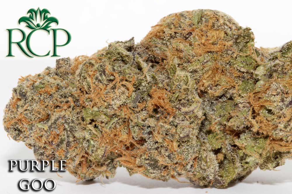 Sacramento Medical Marijuana Dispensary Cannabis Club Strain PURPLE GOO