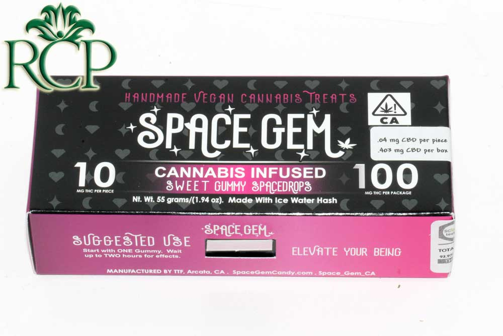 Sacramento Medical Marijuana Dispensary Cannabis Club Strain SPACE GEM SWEET SPACEDROPS 10PK
