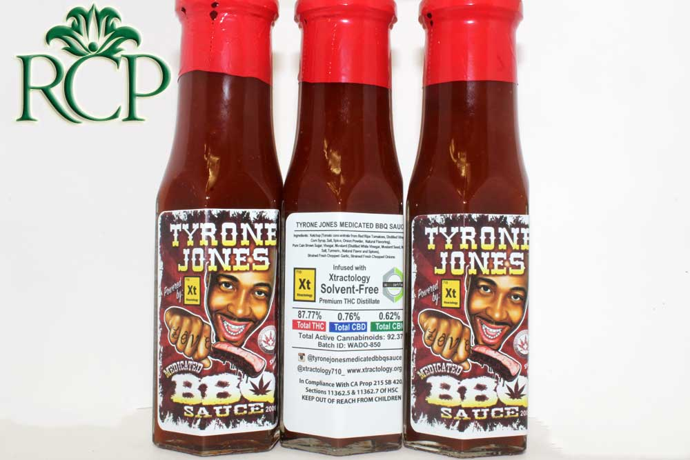 Sacramento MMJ Dispensary Strain TYRONE JONES MEDICATED BBQ SAUCE